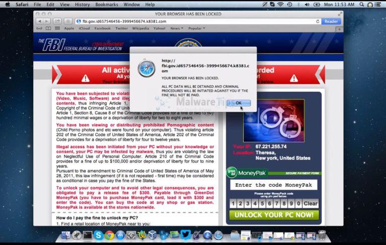 Hijacked Browser